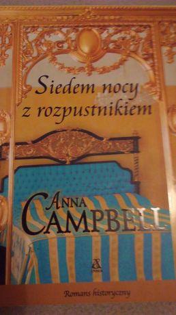 Anna Campbell, Siedem nocy z rozpustnikiem