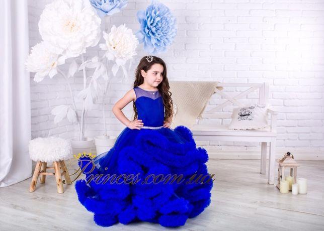 Детское нарядное платье Облако