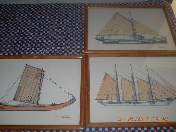 Molduras de parede - Barcos