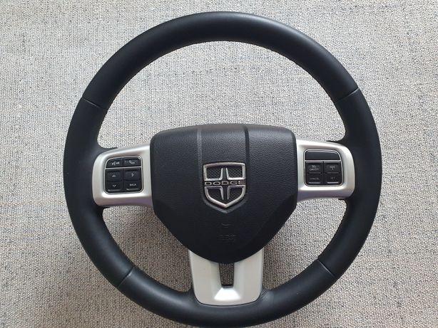 Кожаный руль с подушкой безопасности Airbag Dodge Journey