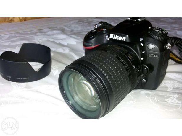 Vendo camara fotografica reflex Nikon d7100+lente 18-105mm+acessorios