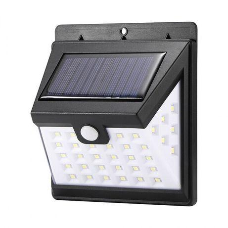 Lampa solarna 40 LED z czujnikiem ruchu i zmierzchu
