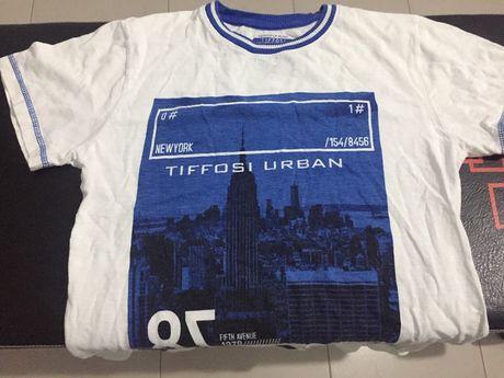 T shirt Tiffosi 8 anos
