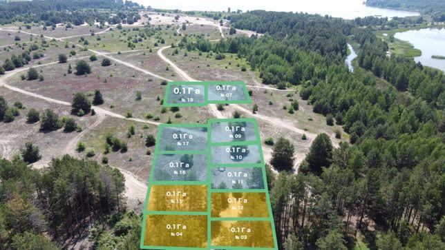 0.1 Га: Продажа земельных участков возле водохранилища 45 км до Киева