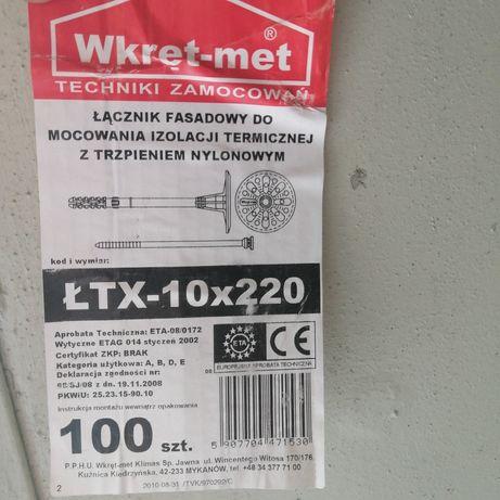 Дюбель 10*220  wkret met