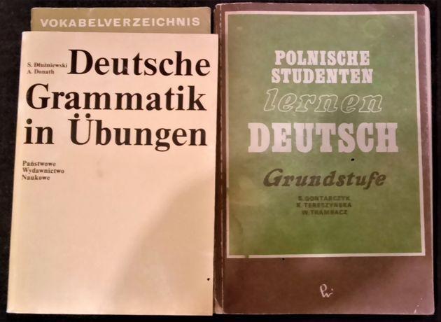 Deutsche grammatik in Übungen - Dłużniewski, Donath + gratis