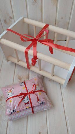 В наличии На подарок Кроватка для куклы постелька для пупса Baby Born