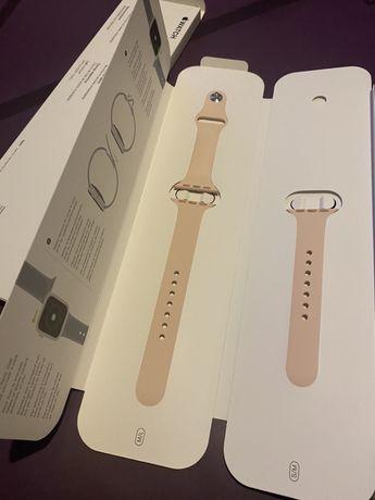 Apple iWatch -50zł pasek sport band 40mm 38mm pink sand