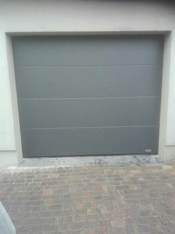 Brama garażowa ocieplana segmentowa +montaż+napęd came HG600+pilot