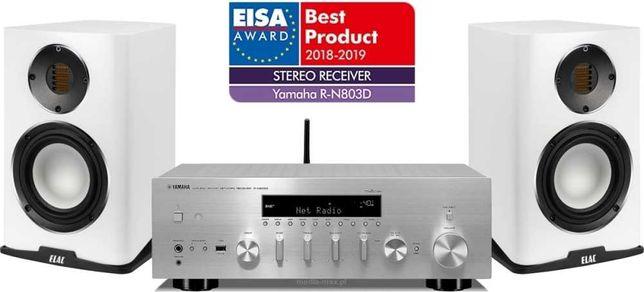 Zestaw stereo Yamaha R-N803D + ELAC Carina BS243.4 - odsłuchaj WROCŁAW