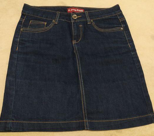 Spódniczka jeans granatowa