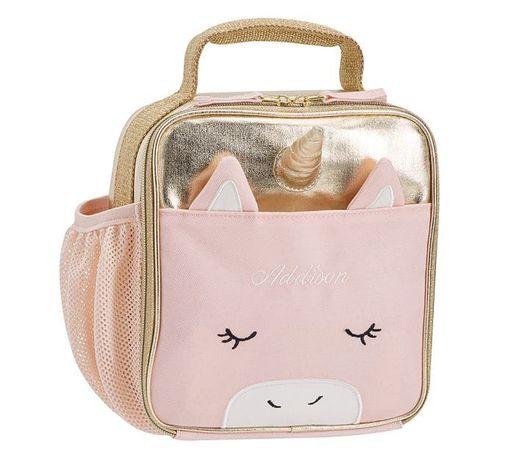 Pottery barn kids термо сумка для обеда ланч-бокс для девочки