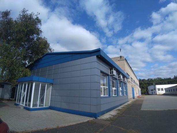 Произврдствнная база и складские помещения в Донецке.