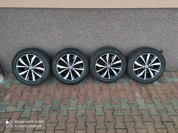 Koła Volkswagen 17 cali !!! 215/55/17 Bridgestone 2018 rok !!!
