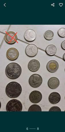 Lote de 52 moedas VENDA OU TROCA