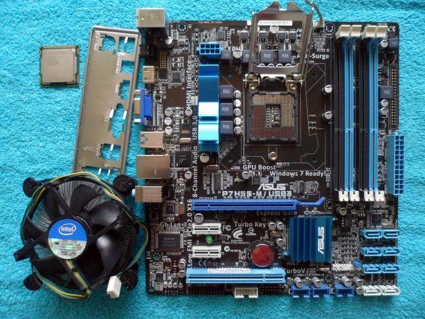 Комплект Socket 1156 Asus P7H55-MUSB3 (rev 1.04) + Intel Core i5-750