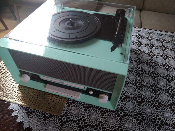 Radio kuchenne Fenton RP135 Retro turkusowy Vintage Bluetooth USB