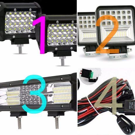 Barra led off road /Material eléctrico