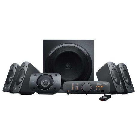 Logitech Speaker System Z906 500W 5.1 THX Digital (Promoção)
