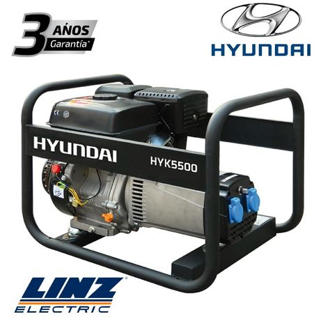 Gerador Monofásico PRO Hyundai 5.0KW