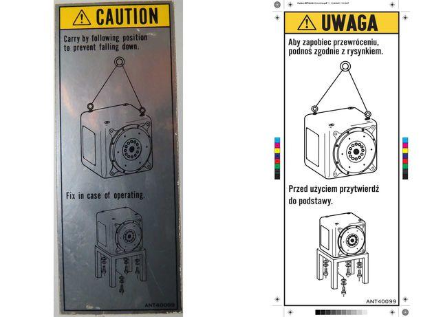 Naklejki ze zdjęć (zdjęcie > wymiarowanie > projekt > druk) kalkomania