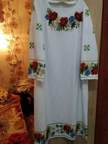 Продам плаття ручна робота,вишите чеським бісером.