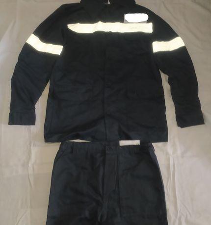 Костюм х/б рабочий, спецовка, куртка, штаны светоотражающие