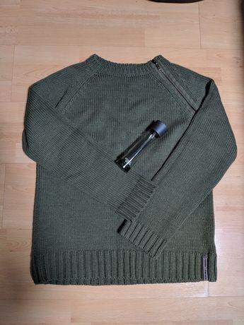 Стильный фирменный свитер Republic джемпер реглан пуловер
