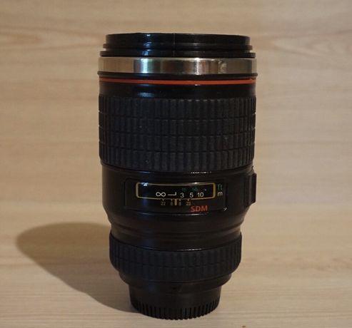 Термос чашка в виде объектива