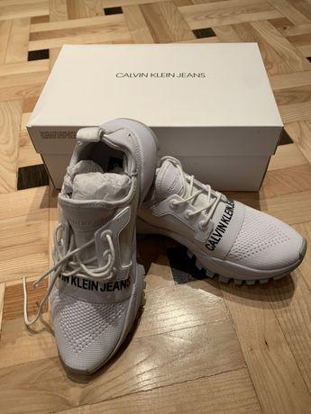 Nowe buty Calvin Klein białe rozmiar 40