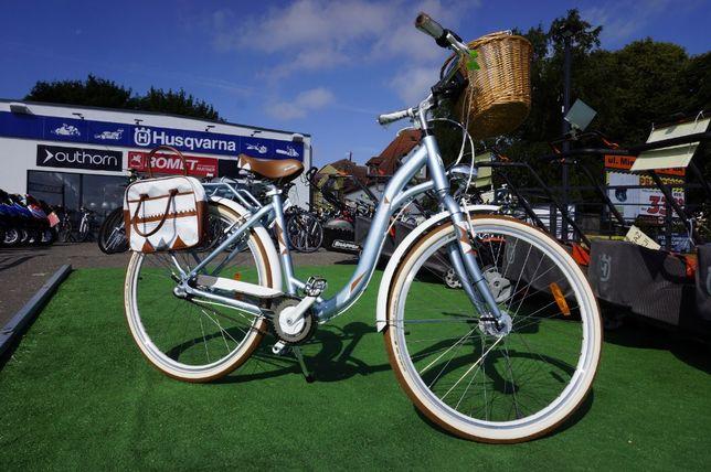 PIĘKNY rower damski Florentina ALU Nexus 3 Monteria 3 Lata GW RATY 0%