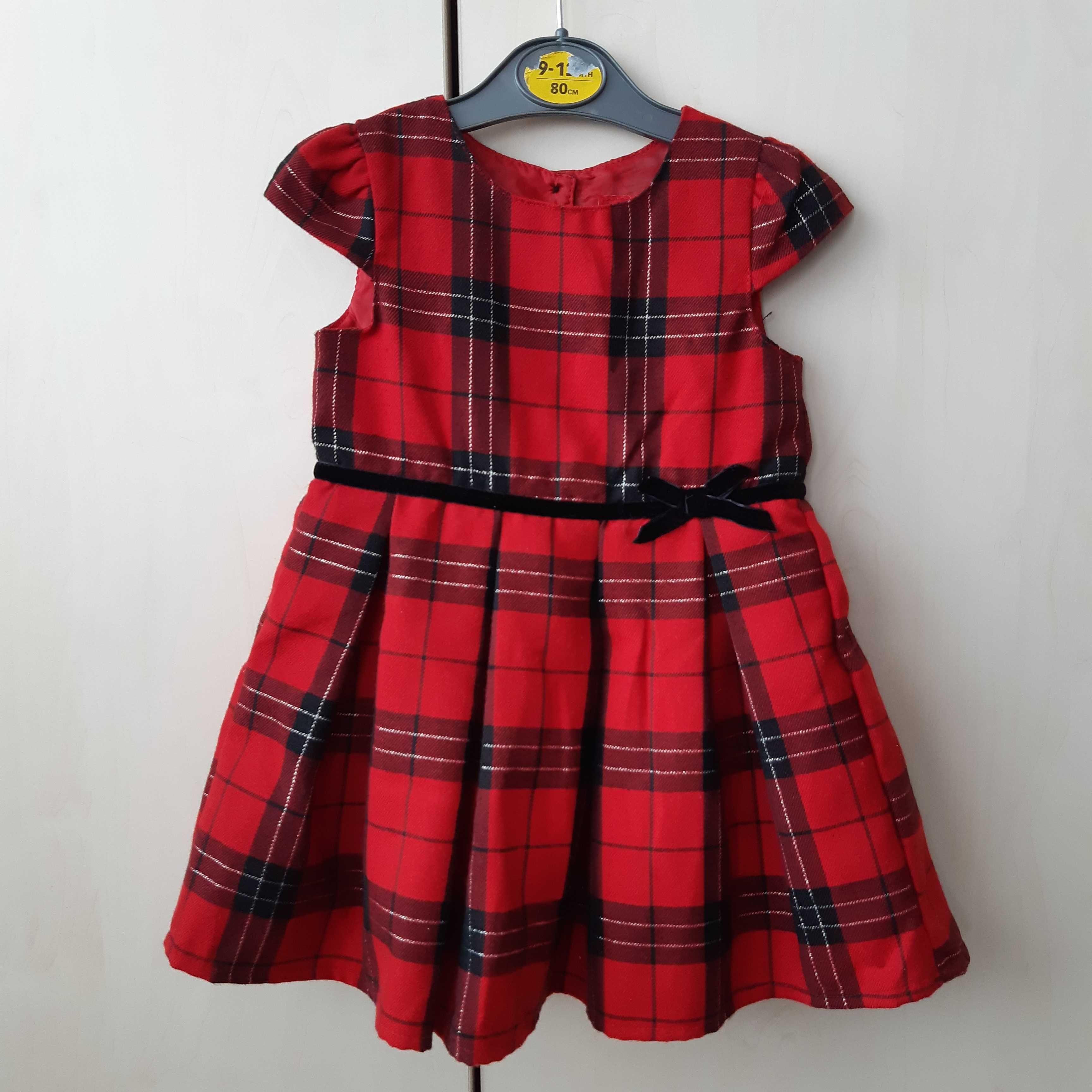 Sukienka dziewczęca 80 cm
