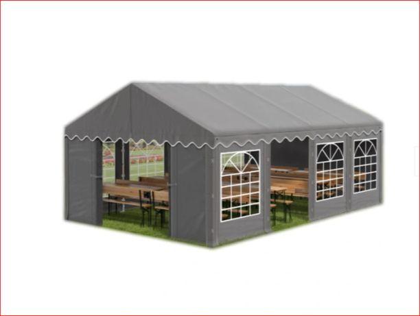 pawilon 3x8m Namiot plenerowy ogrodowy biały szary zielony beżowy