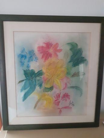 Quadro original - desenho flores