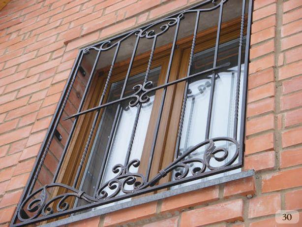 Решетки на окна, балкон, двери. Сварные и кованые. Установим. Доставим