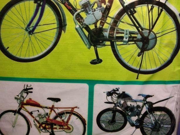 Двигатель Дырчик F80 Комплект для моторизации велосипеда наличие 130$