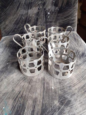 Stare koszyczki na szklanki