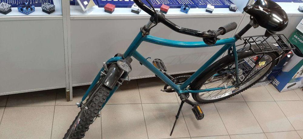 """Rower miejski zielony 26"""" --- Lombard Madej Gorlice ---"""