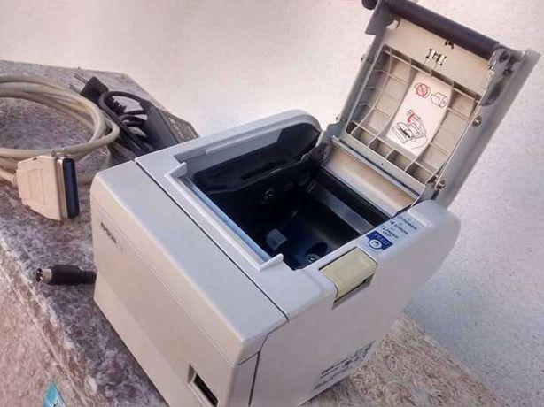 Impressora de talões térmica Epson TM-T88 para sistema de faturação