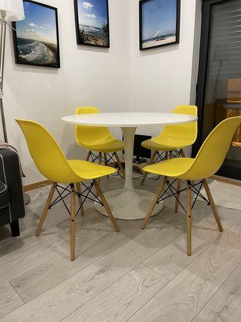 Pack 4 cadeiras + Mesa DoCksta Ikea