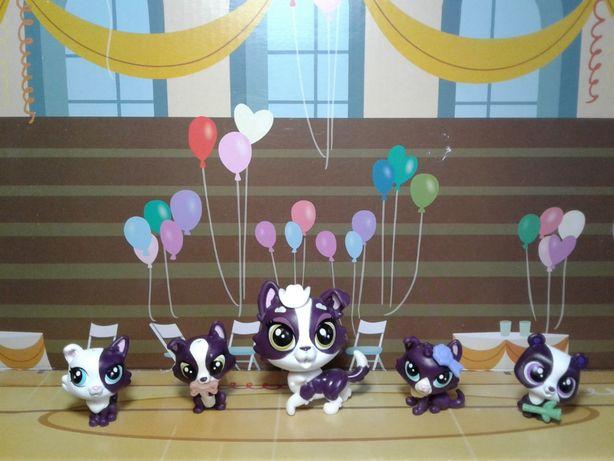 Коллекционный набор собачки семейки Littlest Pet Shop