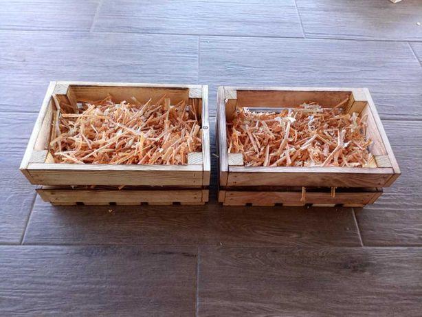 Skrzynka ozdobna, drewniana 30x20x12 na prezent meble GRATIS