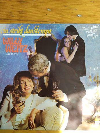 """In strikt danstempo Willy Weitz płyta winylowa 12"""" vinyl vg+"""