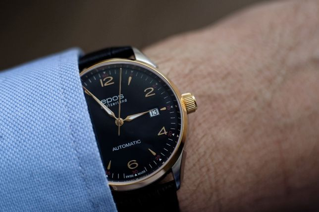 Швейцарские часы EPOS, новые