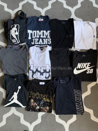 Zestaw Ubrań Nike, Calvin Klein, Cavalli, Tommy Hilfiger, Private M