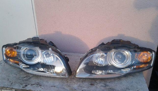 AUDI A4 B7 Sedan Avant Kombi Lampy Przód Bixenony Skrętne Europa +BDB