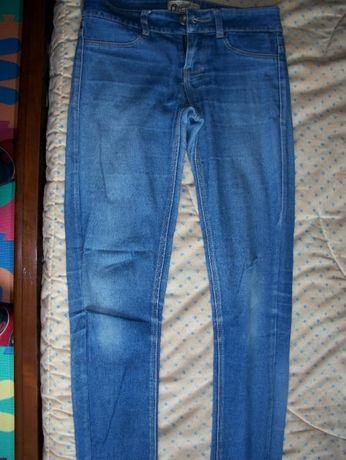 Calças de ganga rapariga 11-12 anos, tamanho 32