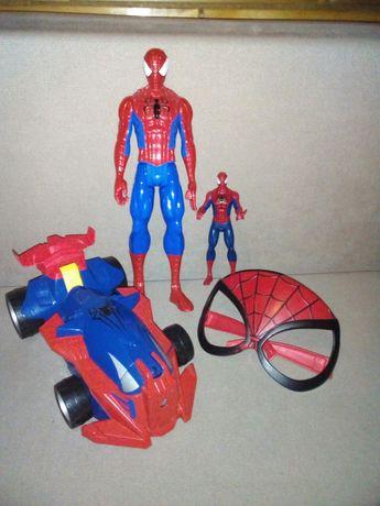 Zestwa figurek i auto Spiderman