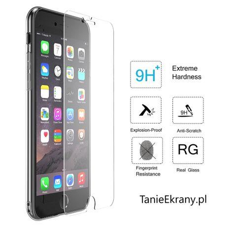 Szklo hartowane OCHRONA ekranu Iphone 6 6+ 6s 6s+ 7 7+ 8 8+ SE 2020