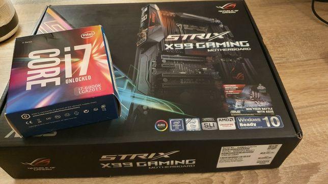 Bundle - Asus Strix x99 Gaming + Intel i7-6800k